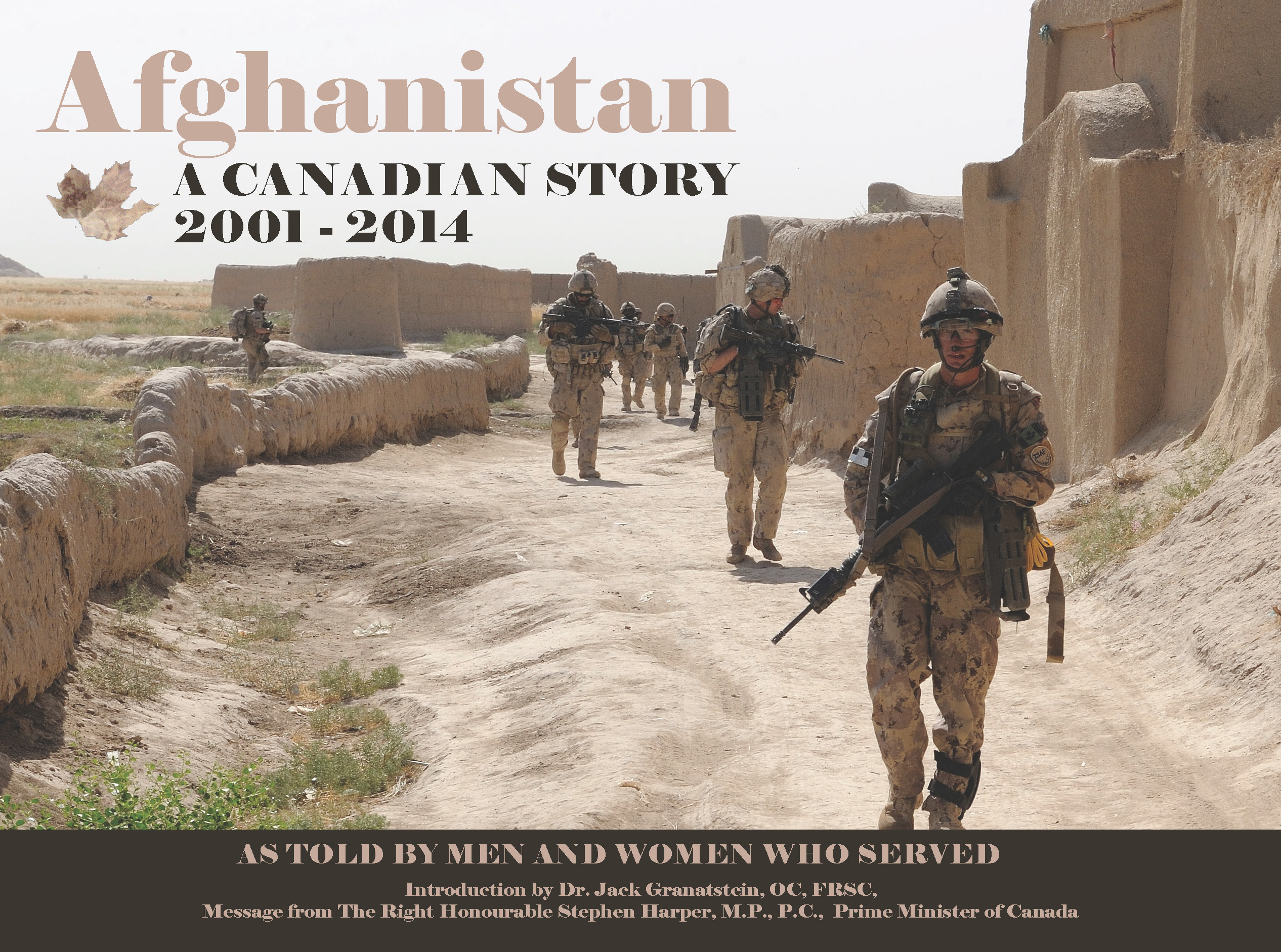 Afghanistan A Canadian Story Draft 3 13  2014