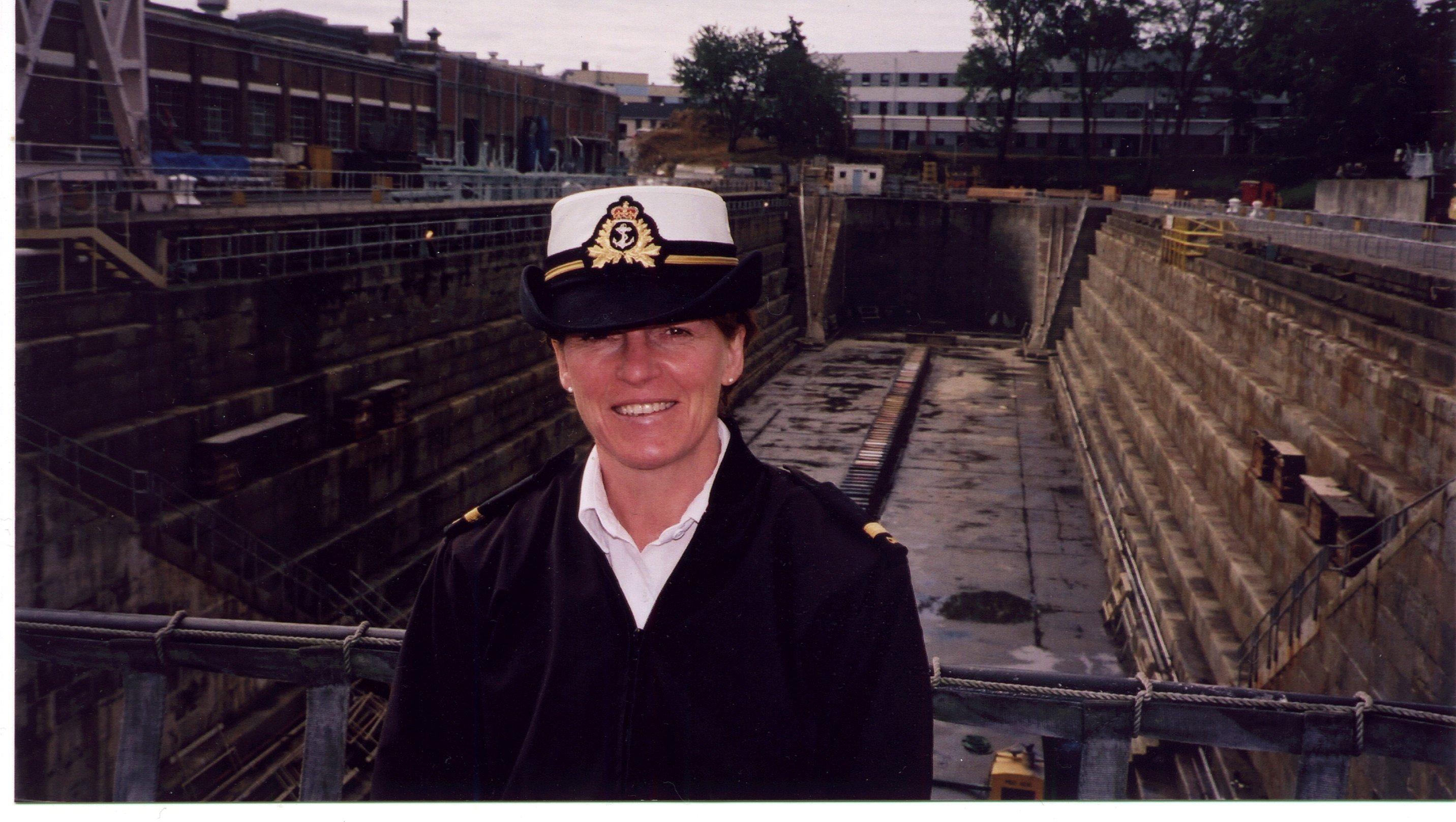 A/SLt Graham HMC Dockyard Eaquimalt 2002